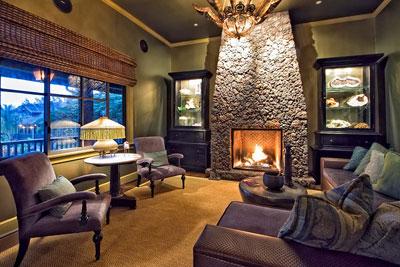 Living room at Lumeria